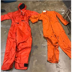 Lot 602 - Military Flying and Submarine Coveralls