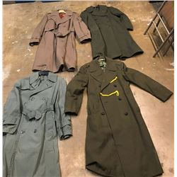 Lot 603 - Military Trench Coats