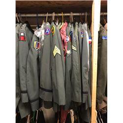 Lot 605 - Military Multi Uniform Lot