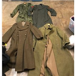 Lot 608 - Military Trench Coats