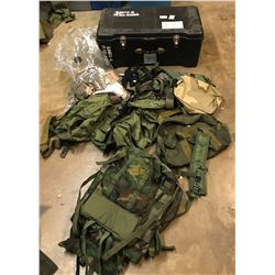 Lot 610 - Military Items Lot