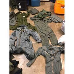 Lot 611 - Military Coverall Lot
