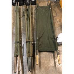 Lot 619 - Military Stretchers