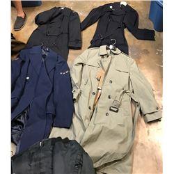 Lot 628 - Military Long Coats