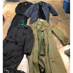 Lot 632 - Military Long Coats
