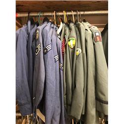 Lot 634 - Military Multi Uniform Lot