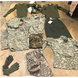 Lot 637 - Multi Uniform Lot
