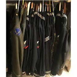 Lot 653 - Military Uniforms