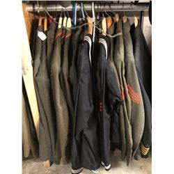 Lot 654 - Military Uniforms
