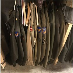 Lot 656 - Military Uniforms