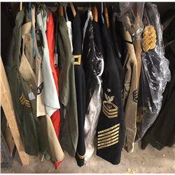 Lot 657 - Military Uniforms