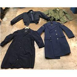 Lot 659 - Military Long Coats
