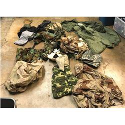 Lot 660 - Military Camo Clothes