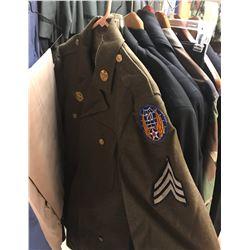 Lot 662 - Military Multi Uniform Lot