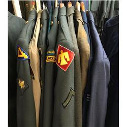 Lot 663 - Military Multi Uniform Lot