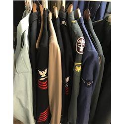 Lot 664 - Military Multi Uniform Lot