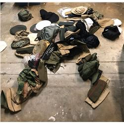 Lot 672 - Military90 pc Hats