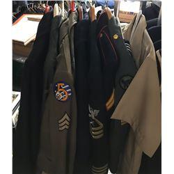 Lot 687 - Military Multi Uniform Lot