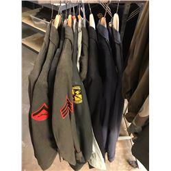 Lot 689 - Military Multi Uniform Lot
