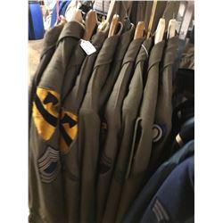 Lot 691 - Military Multi Uniform Lot