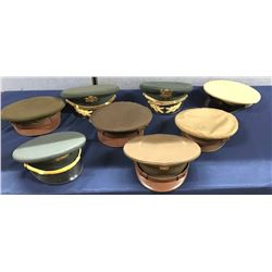 Lot 700 - Military Officer Dress Hats