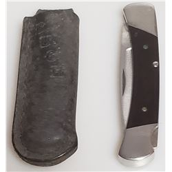 Lot 731 - Knife Buck 501 USA with the Case
