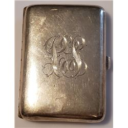Lot 752 - R. Blackinton & Co. Sterling Silver Cigarette Carrying Case