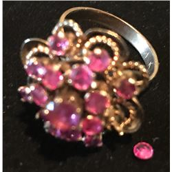 Lot 765 - Jewelry Antique Pink Sapphire Ring