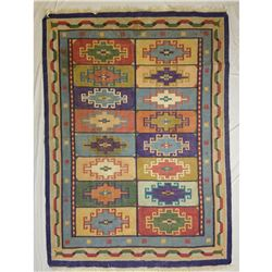 "Lot 773 - Indian Dhuriee Rug 7'8"" x 5'7"""