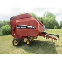 03 NH BR 780 Rd Baler 1000 PTO Bale Command,  10750 Bales Showing on Monitor S# 26483