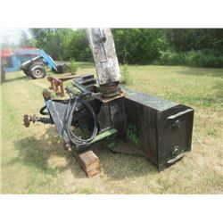 JD ? (Its been painted) 3PH 7'- 2 Stage Snowblower w Hyd Chute