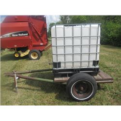 1000 Litre Poly Water Tank Trailer