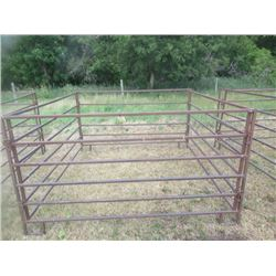 7'x7' Small Animal Collapsible Bale Feeder