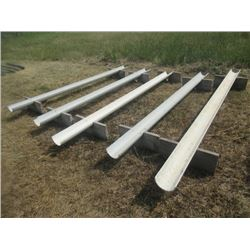 5) Poly Bunk Feeders 9' to 11'