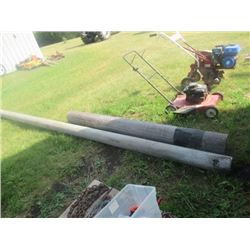 """2) Poly Pipe 1) 8"""" x 8' 1) 6"""" x 16'"""