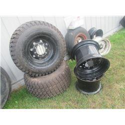 """2 New Tires 31 x 13.50-15"""" & 4 Rims"""