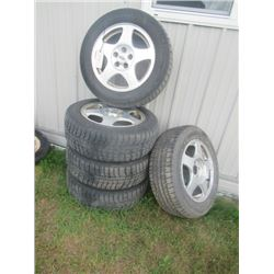 5) 215 / 60 R Tires & Rims