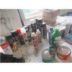 Auto Polish, Spray Paint, Rust Coat, Auto Cleaners