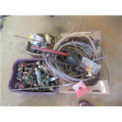 Plumbing, Connectors, Fittings, PCV, Galvanized, Taps