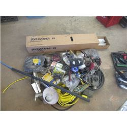 Extension Cords, Tail Lights, Auto Wiring, & Fluorescent Lights
