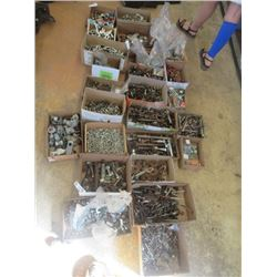 Bolts, Nuts, Washer, Leg Bolts, Hyd Fittings, Hardware, Wood Screws, Boxes have One Size