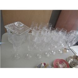 Various Crystal & Cut Glass