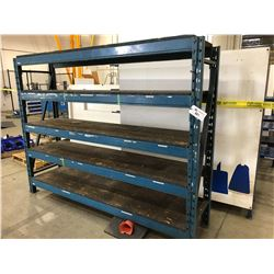 1 SECTION PALLET RACKING