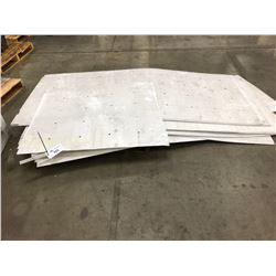 LOT OF CORRUGATED SHEETS