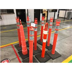 LOT OF TRAFFIC DIVIDERS