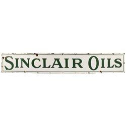 Sinclair Oils 8 Ft Porcelain Sign