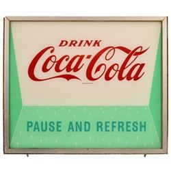 Coca-Cola Pause And Refresh Light-Up Sign