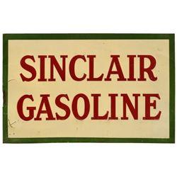 Sinclair Gasoline Tin Tacker Sign