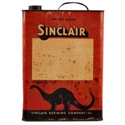 Sinclair 1 Gallon Oil Can