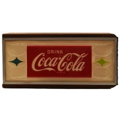Coca-Cola Counter Top Light-Up Sign